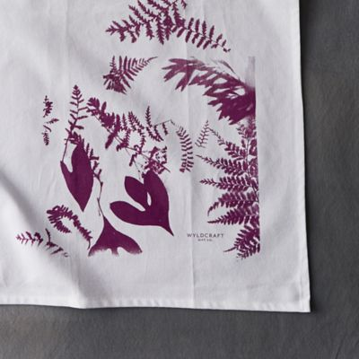 Forest Ferns Tea Towel