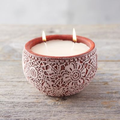 Lace Bowl Citronella Candle