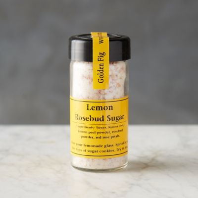 Lemon Rosebud Sugar