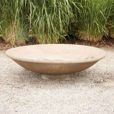 Fiber Core Shallow Bowl Planter
