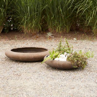 Fiber Core Rounded Bowl Planter