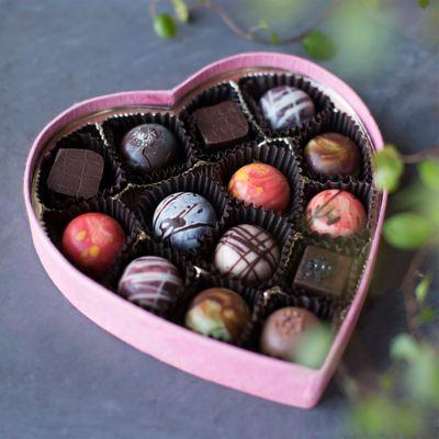 Knipschildt Valentine Chocolates Heart