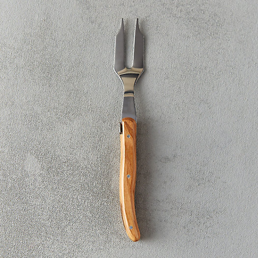 View larger image of Laguiole Olive Handle Cheese Fork