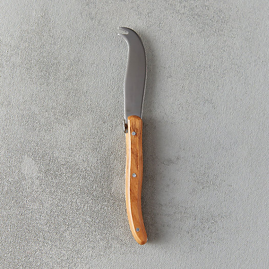 View larger image of Laguiole Olive Handle Cheese Knife