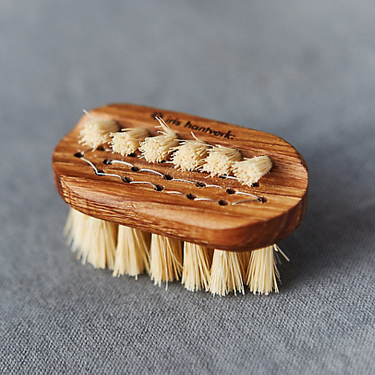 View larger image of Oak Travel Nail Brush