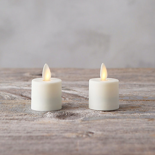 View larger image of Flame Effect Tea Lights, Set of 2