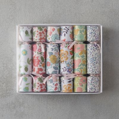 Liberty Floral Crackers, Set of 6