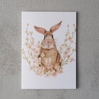 Bunny Bouquet Card