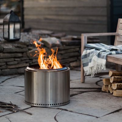 Stainless Steel Bonfire Pit