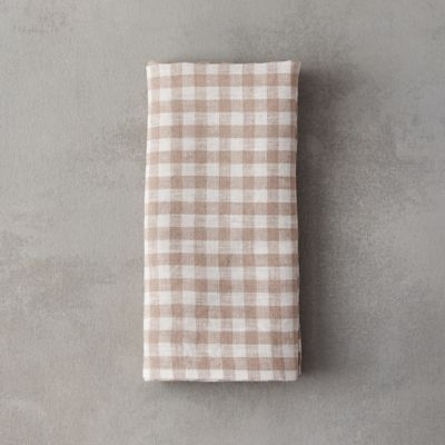 Lithuanian Linen Check Napkin