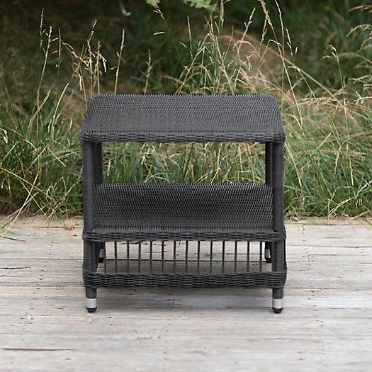 View larger image of Trellis Weave All Weather Wicker End Table