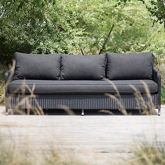 View larger image of Minimalist All Weather Wicker Extra Large Sofa