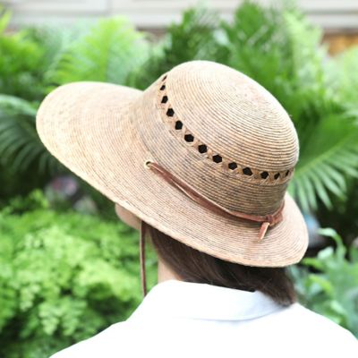 Lattice Palm Hat