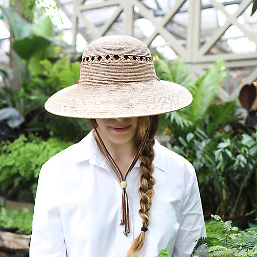 View larger image of Lattice Palm Hat