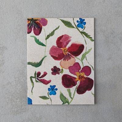 Painted Pansies Card