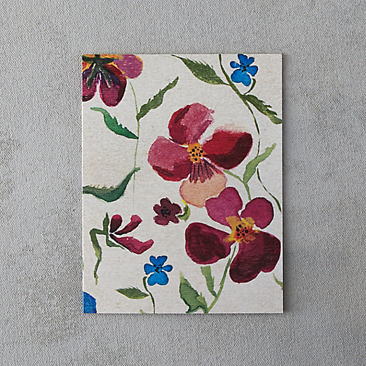 View larger image of Painted Pansies Card