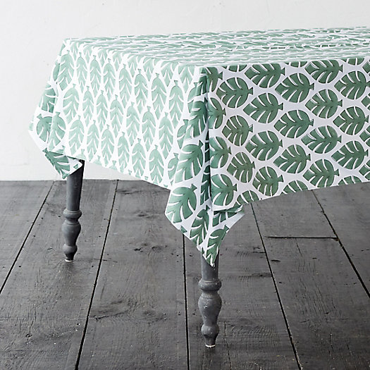 View larger image of Monstera Leaf Tablecloth