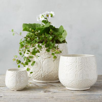 Ceramic Lace Pot