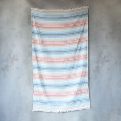 Double-Sided Rainbow Beach Towel