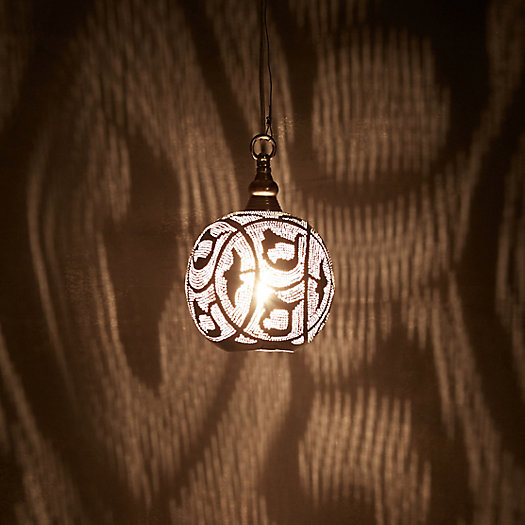 View larger image of Zenza Filigree Sphere Light, Small