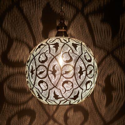 Zenza Filigree Sphere Light, Medium