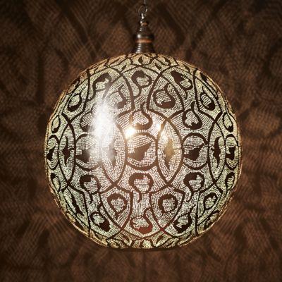Zenza Filigree Sphere Light, Large