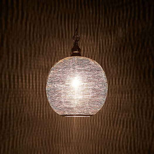 View larger image of Zenza Pin Dot Sphere Light, Small