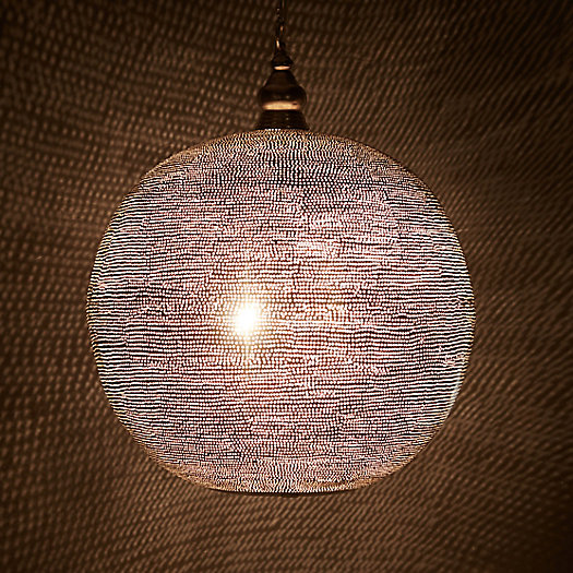 View larger image of Zenza Pin Dot Sphere Light, Large