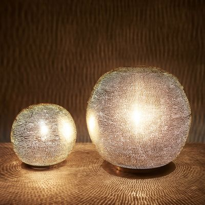 Zenza Pin Dot Sphere Table Lamp