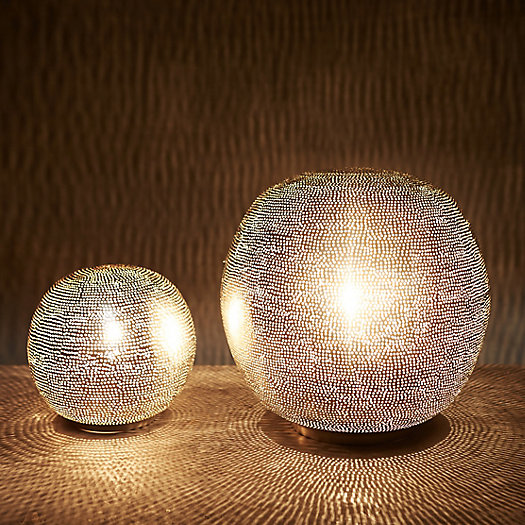 View larger image of Zenza Pin Dot Sphere Table Lamp