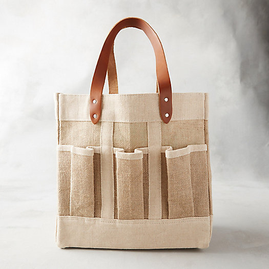 View larger image of Apolis Jute Garden Bag