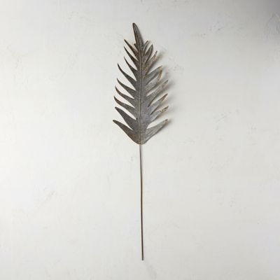 Aged Metal Small Fern