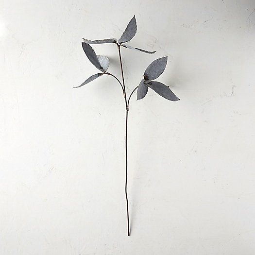 View larger image of Aged Metal Leaf Stake