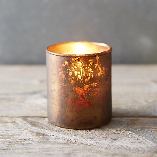 View larger image of Weathered Mercury Votive Holder