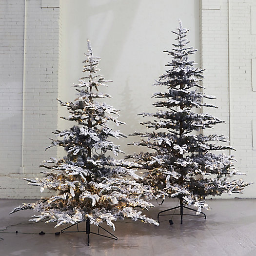 View larger image of Pre-Lit LED Snowy Faux Noble Fir