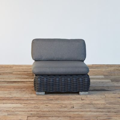 Modular Lounge All Weather Wicker Armless Chair