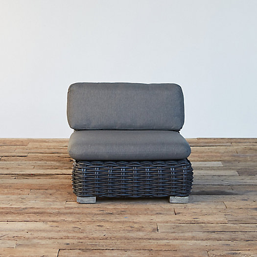 View larger image of Modular Lounge All Weather Wicker Armless Chair
