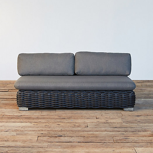 View larger image of Modular Lounge All Weather Wicker Sofa