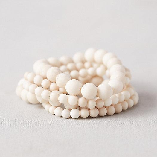 View larger image of Stone Bead Bracelets, Set of 5