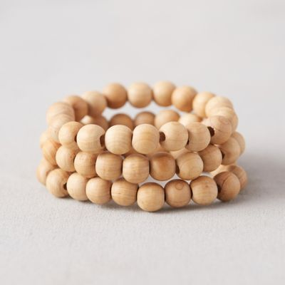 Beaded Row Bracelets, Set of 3