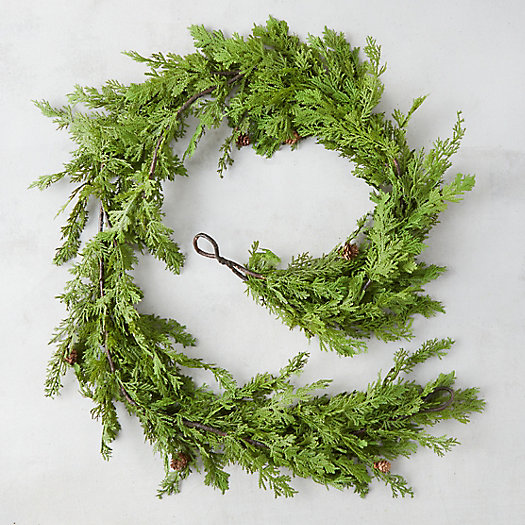 View larger image of Faux Juniper Garland