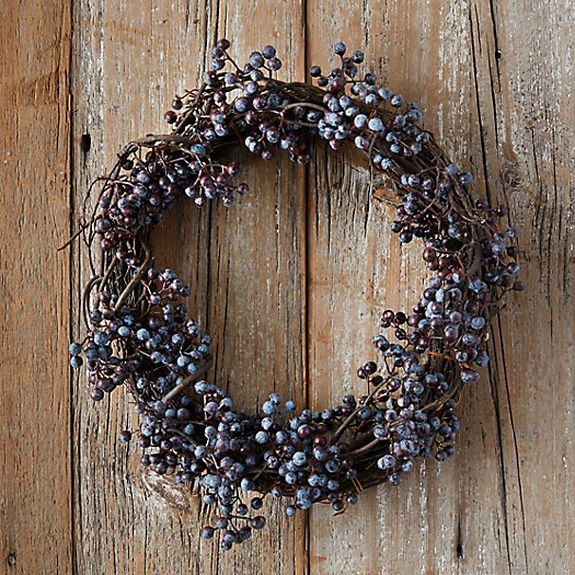 View larger image of Faux Juniper Berries Wreath
