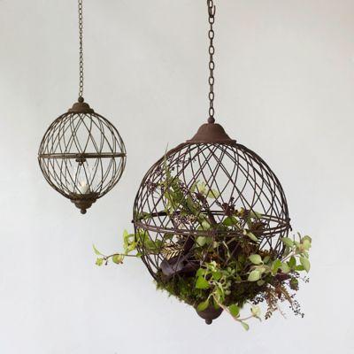 Plantable Wire Lantern
