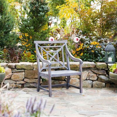 Teak Fretwork Garden Chair