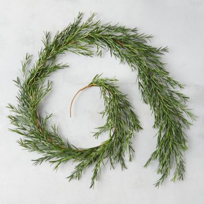 Faux Rosemary Garland