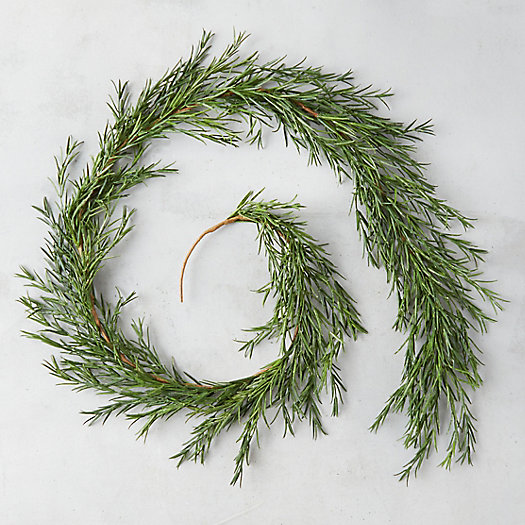 View larger image of Faux Rosemary Garland