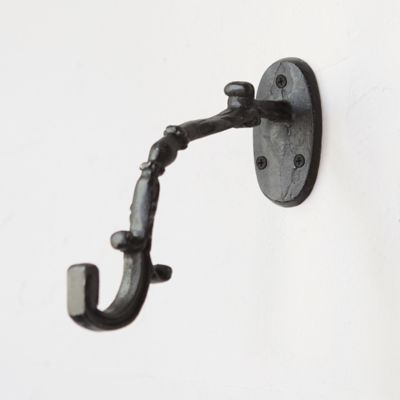 Iron Scroll Wall Hook