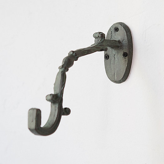 View larger image of Iron Scroll Wall Hook