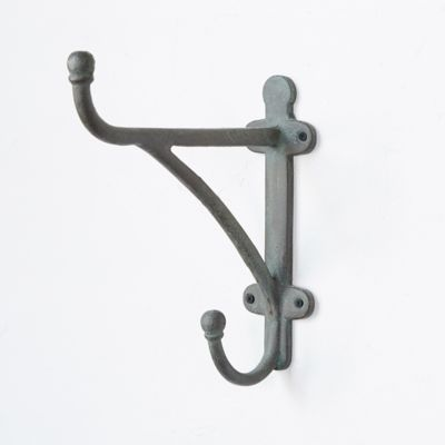 Traditional Iron Wall Hook, Tall
