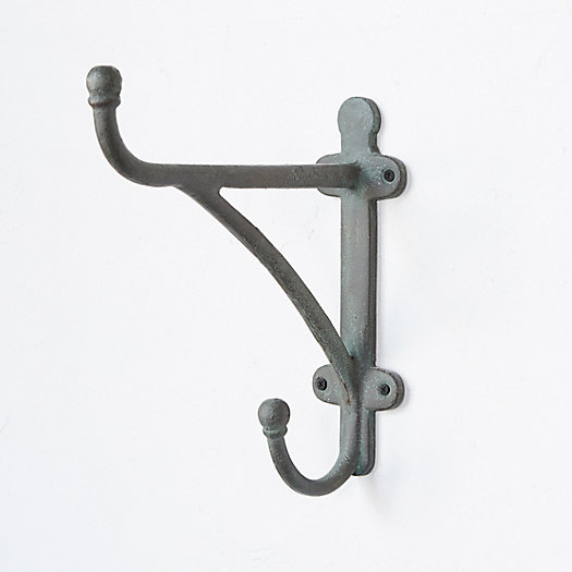 View larger image of Traditional Iron Wall Hook, Tall